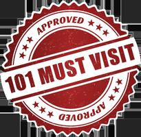 101 Must Visit Logo