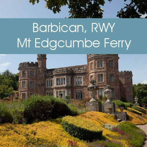 Plymouth Boat Trips - The Barbican, Royal William Yard & Mount Edgcumbe Ferry Link