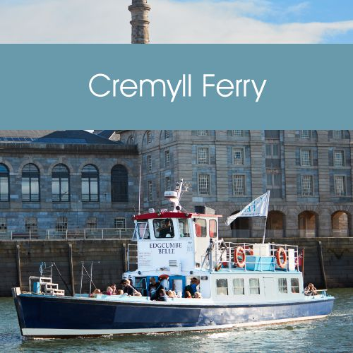 Plymouth Boat Trips - Cremyll Ferry Link