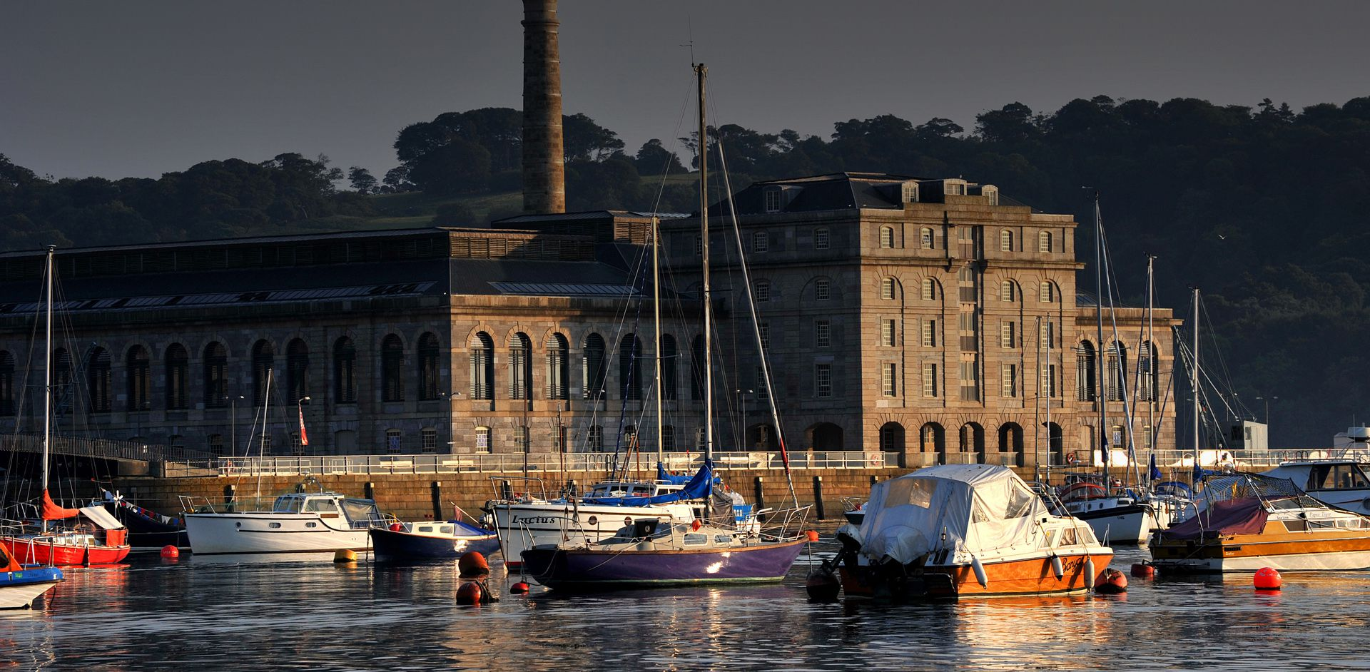 Plymouth Boat Trips Barbican, Royal William Yard & Mount Edgcumbe Ferry - Slide One
