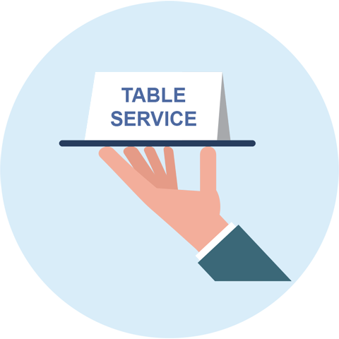 Table Service Icon