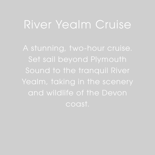 Plymouth Boat Trips - River Yealm Cruise Text
