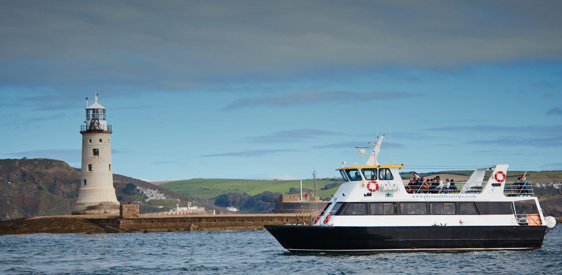 Plymouth Boat Trips Cruising - Slide Six