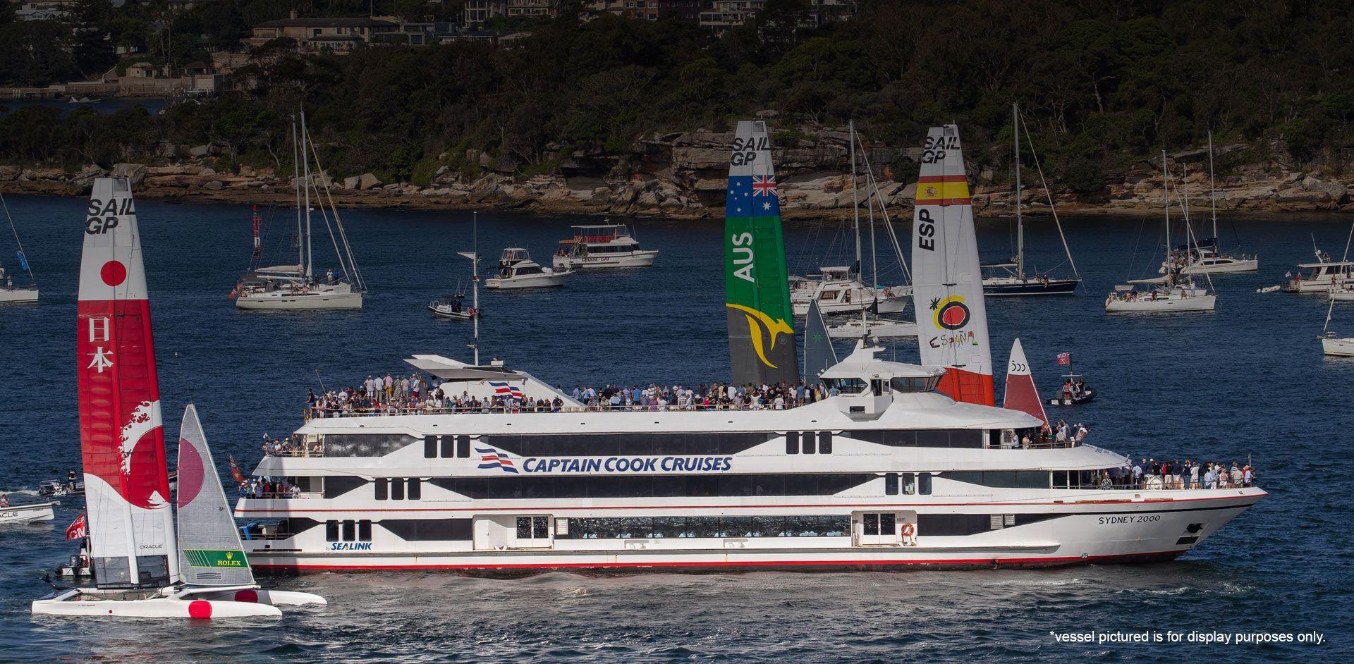 SailGP's – Official Access Spectator Boats - Slide 9