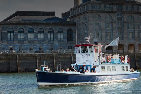 The Cremyll Ferry - Plymouth Boat Trips