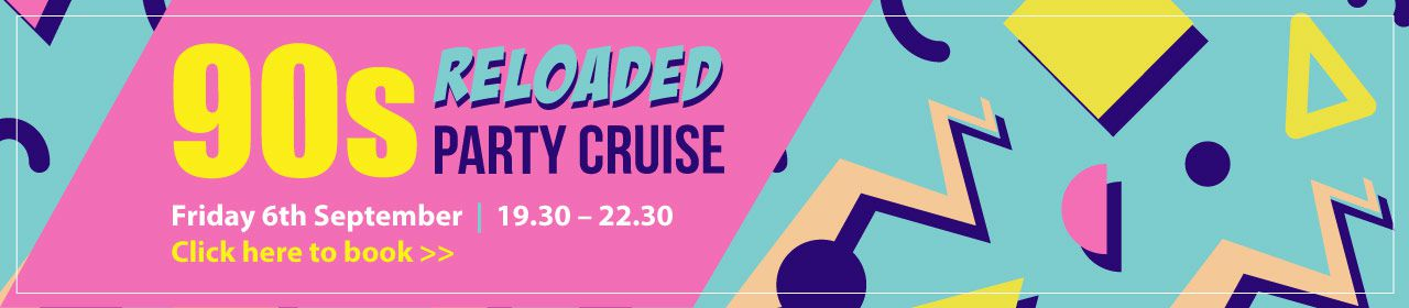 90s Reloaded Cruise Banner