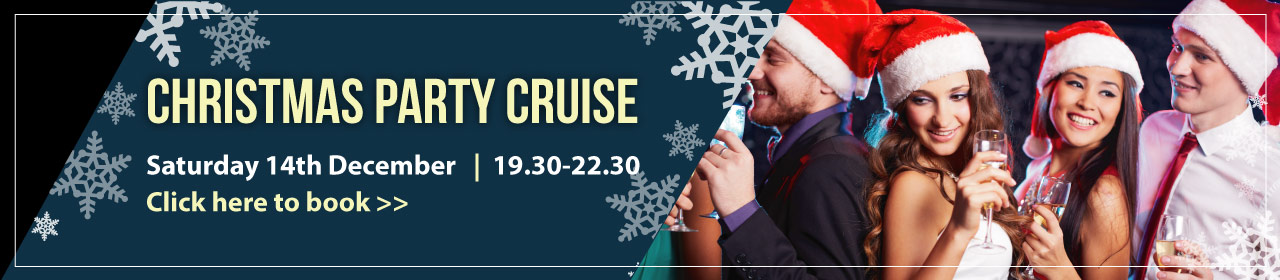 Christmas Party Cruise Banner