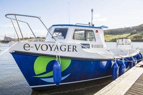 Plymouth Boat Trips and Voyager Marine launch UK's first sea-going electric ferry