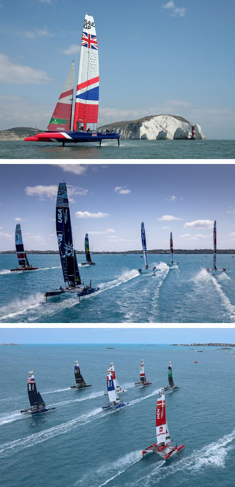 SailGP's – Official Access Spectator Boats